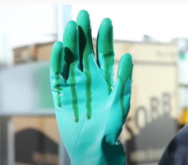Handsker ved lækage