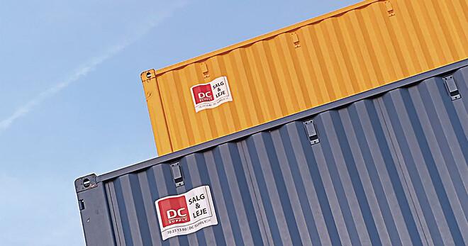Opkøb af containere