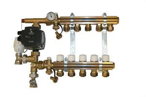 Med en Pettinaroli KVIKSHUNT tager det ikke lang tid at påfylde vand og skylle kredsene igennem
