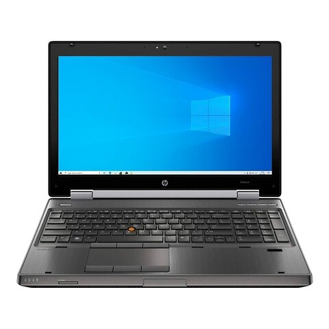 "15"" hp elitebook 8560w - intel i7 2630QM 2,0GHz 256GB ssd 8GB Win10 pro - grade b - bærbar computer"
