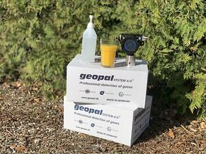 Geopal, gasdetektor, juicefabrik, håndsprit