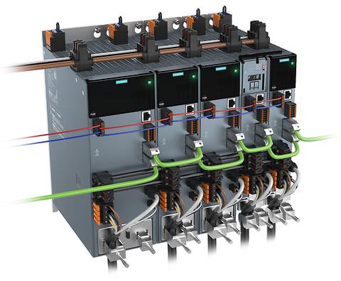 3-faset Sinamics S210 servosystem fra Siemens