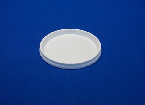 Plastlåg 2900 - Ø69 mm. - hvid
