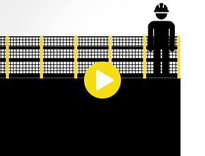 Axelent fallskydd arbetsmiljö säkerhet