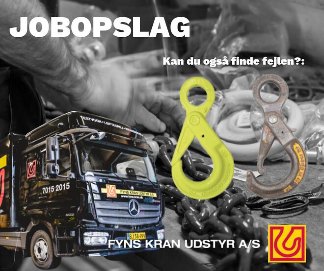 Jobopslag - servicetekniker Aarhus Fyns Kran Udstyr