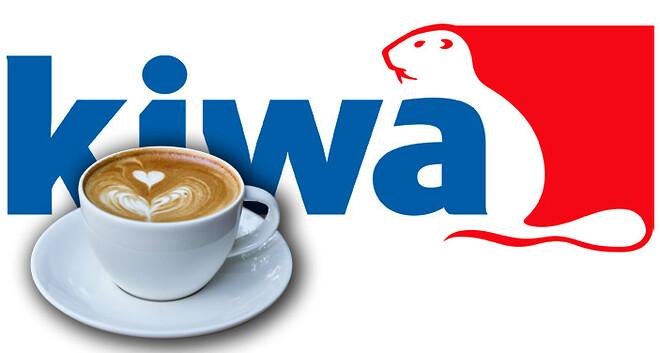 Frukost med kaffe och Kiwa Inspecta