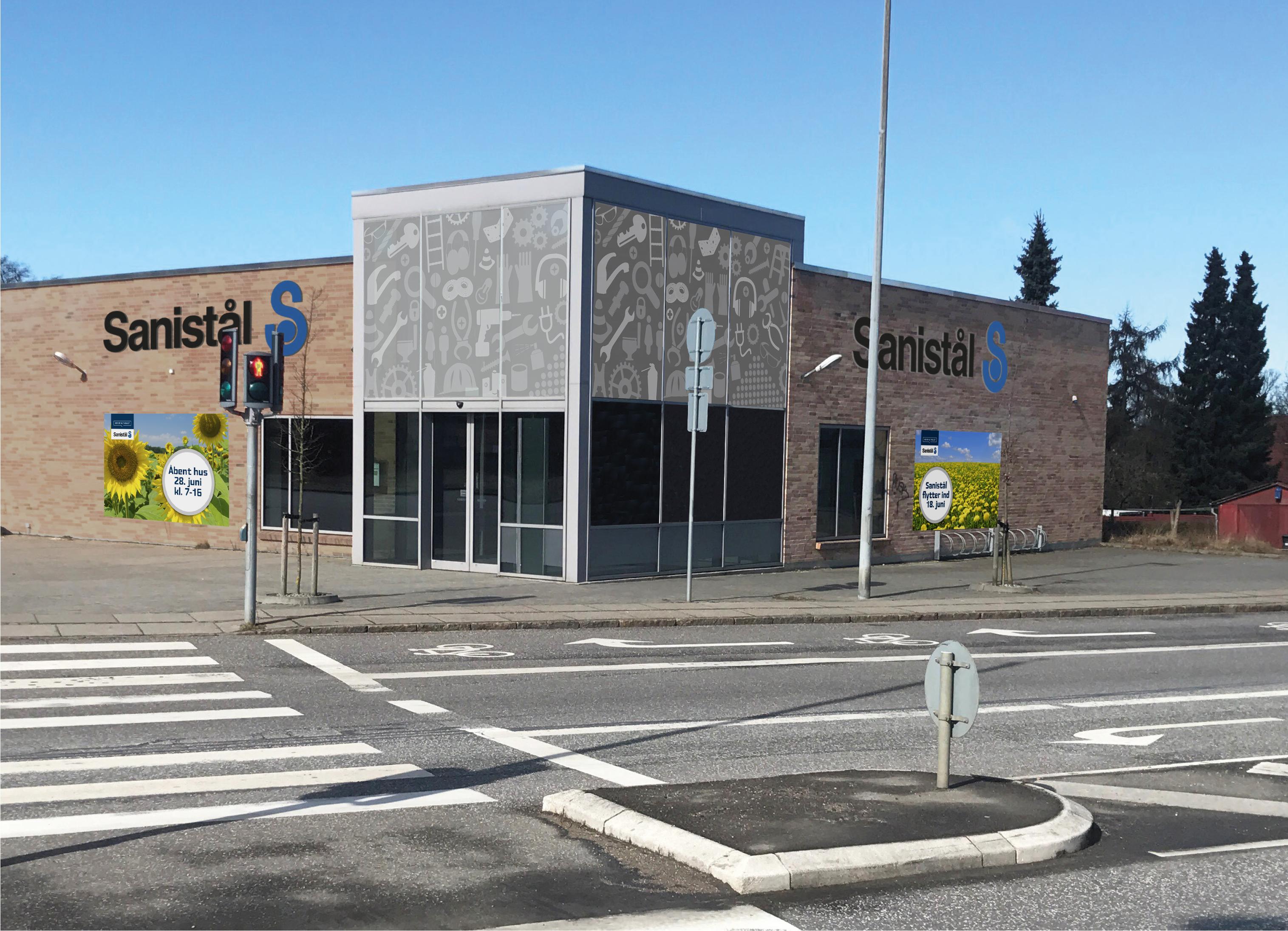 6fd1cebd89a Næstved får ny Sanistål-butik - Mester Tidende