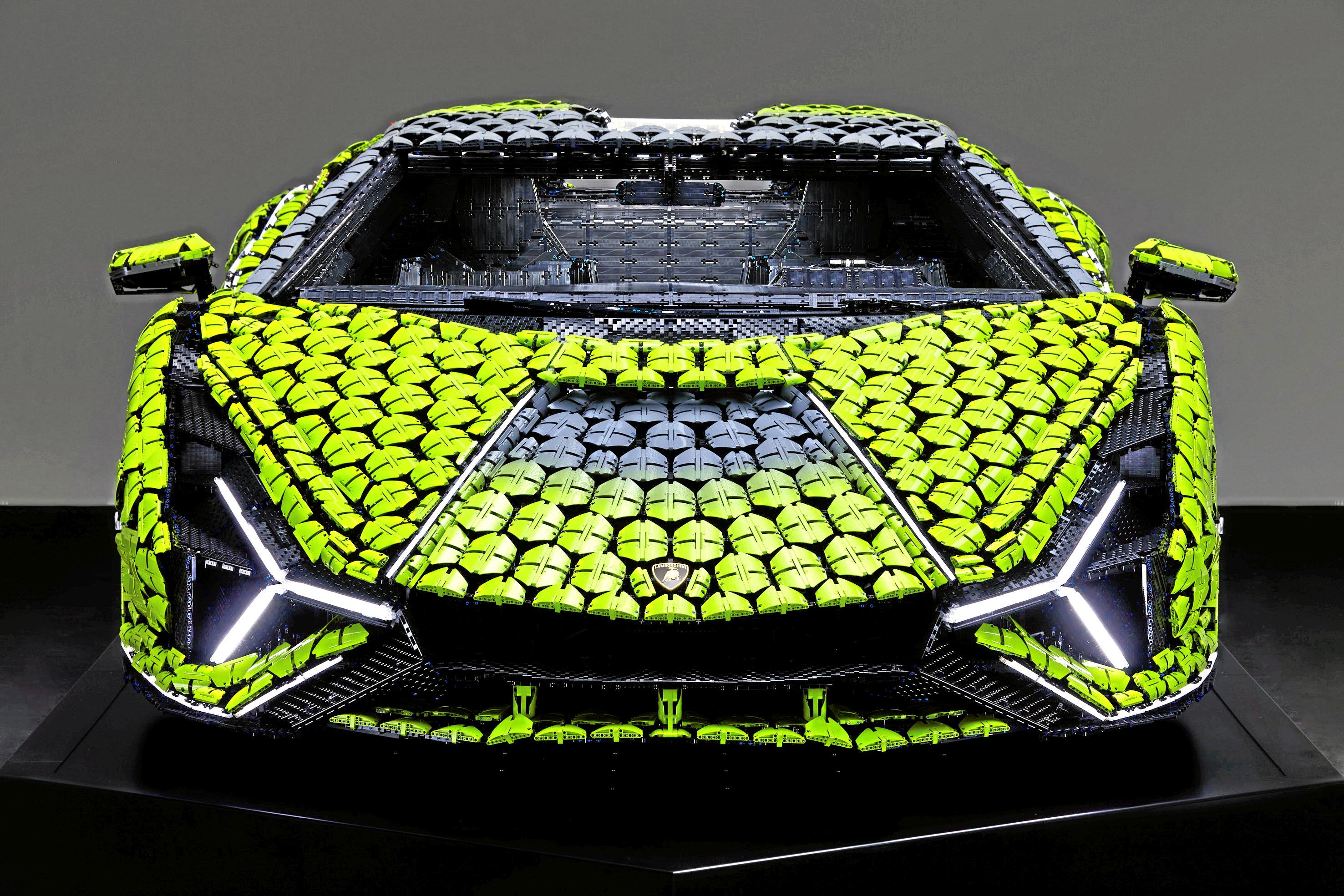 Lego-bil front