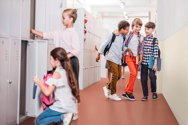 Rätt golv gör stor skillnad för inomhusklimatet i skolan