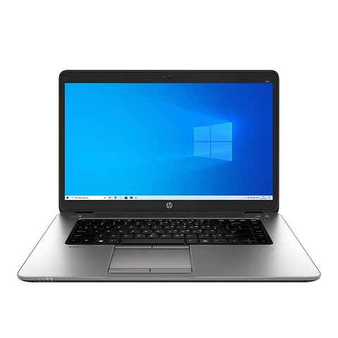 "15"" hp elitebook 850 G2 - intel i5 5200U 2,2GHz 256GB ssd 8GB Win10 pro - grade a - bærbar computer"