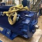 Vi hentede motoren og på to uger var vi istand til at redde denne 90kW 12pole EEx de
