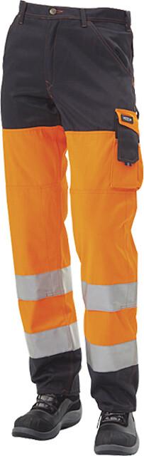 Arbejdsbukser EN471 kl. 2, orange/marine - 11101