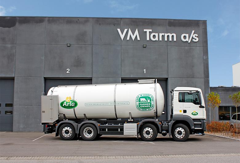 VM Tarm a/s leverer 3 stk. mælketankvogne til Arla Foods Ltd. - Transportmagasinet