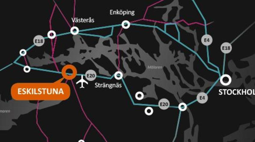 Nu är det officiellt: Amazon väljer Eskilstuna logistikpark