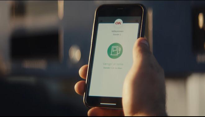 Betal for benzing, diesel og vask med OK mobil tankkort