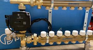KVIKSHUNT fra Pettinaroli med UPM3 Grundfos pumpe