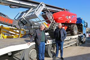 To generationer hos Slagelse Lift. Thomas Lindboe skabte virksomheden i begyndelsen af 1980'erne. I 2013 kom sønnen Anders Lindboe til, så der i dag er 2 X Lindboe i front hos liftfirmaet.