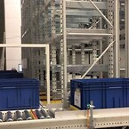 infeed from the back warehouse solution