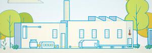 Evaporativ kyla, energibesparingar
