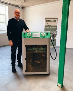 ViScaMix Scanmaster maskine til indstøbning af elektronik