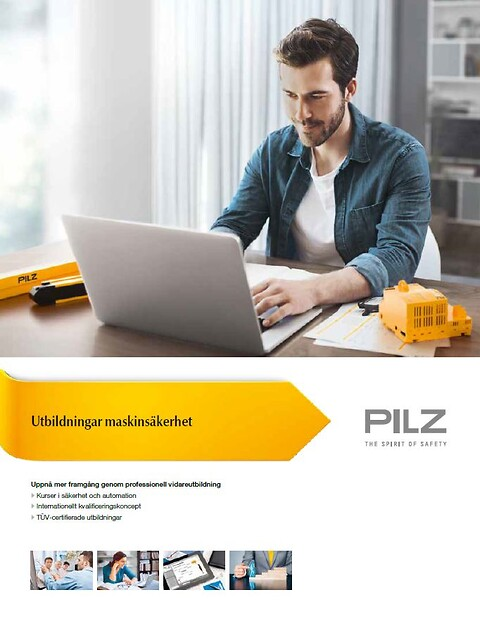 CECE – Certified Expert in CE Marking - Pilz utbildningar maskinsäkerhet