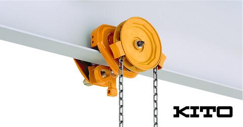 KITO Håndkædeløbekat, type TSG