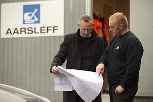 Hos Aarsleff skal projektledere have indsigt i tilbuddet, så de kender tankerne bag, inden det sendes afsted.