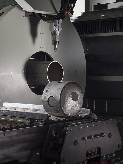 Kapacitet og dimensioner - QuickTube - 3D rørlaserskæring
