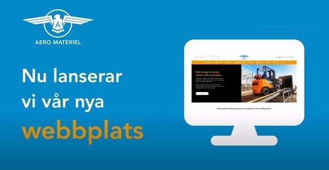 Lansering av e-handel med 30.000 produkter Aero Materiel