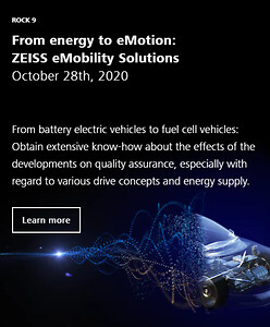 ZEISS Innovation Rocks, eMobility, Battery, Fuel Cell Systems