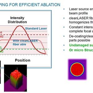 Laserrengöring utan att skada grundmaterialet