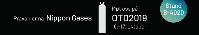 Nippongases, gass, nitrogen, sveisegass, gassleverandør, spesialgass, otd, praxair,