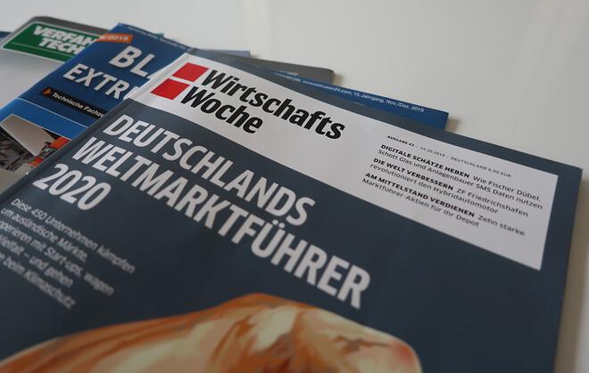 WirtschaftsWoche tilldelar Busch titeln World Market Leader 2020 för sina vakuumpumpar och -system för livsmedelsindustrin.