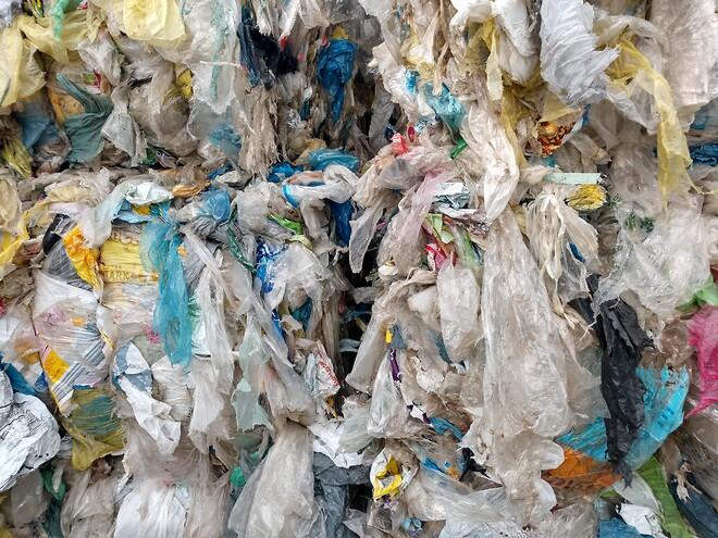 Plastikkavfall