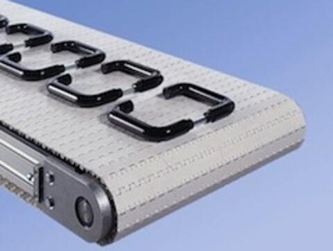 Modulbånd - Tabletop - plastkæde transportør