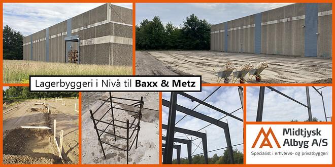Halbyggeri i Nivå. Vi opfører alle typer lagerhaller inden for erhvervsbyggeri og industribyggeri.