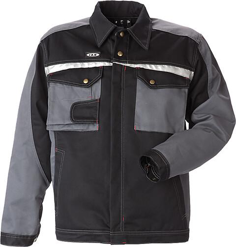 Arbejdsjakke, 9205 - sort/grå