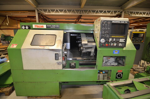 Mazak Quick Turn 10 N ATC M/C  1989