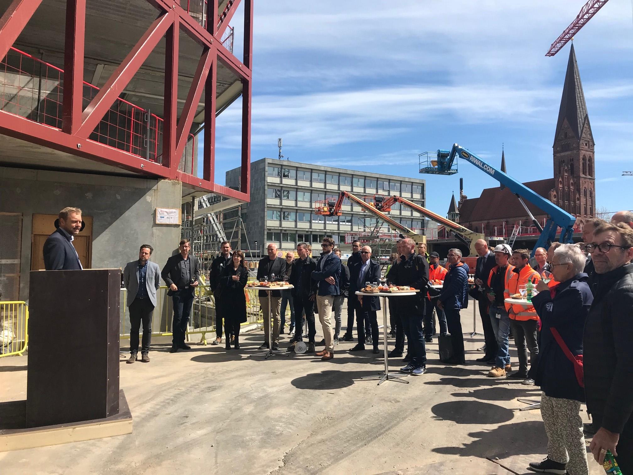 Topnotch Milepæl for Aarsleff-byggeri med 217 boliger i Odense - Building MQ35