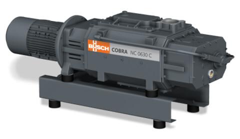 Cobra tørre skruevakuumpumper for middels og grove vakuumområder fra Busch