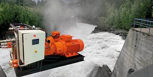 Hydraulikkaggregat til vannkraft levert av Servi