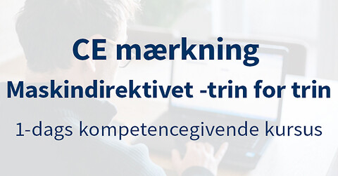 Maskindirektivet – CE-mærkning Vejle