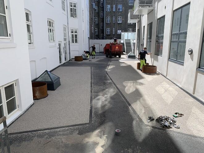 innovativt og bæredygtigt belægning fra Stonewalk