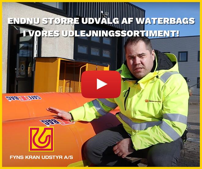 Waterbags udlejning - Martin Ravn - Fyns Kran Udstyr
