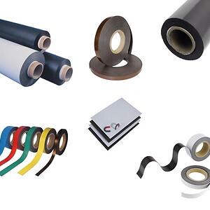 magnetbånd, magnettape, selvklæbende magnetbånd, magnetfolie, magnetpapir