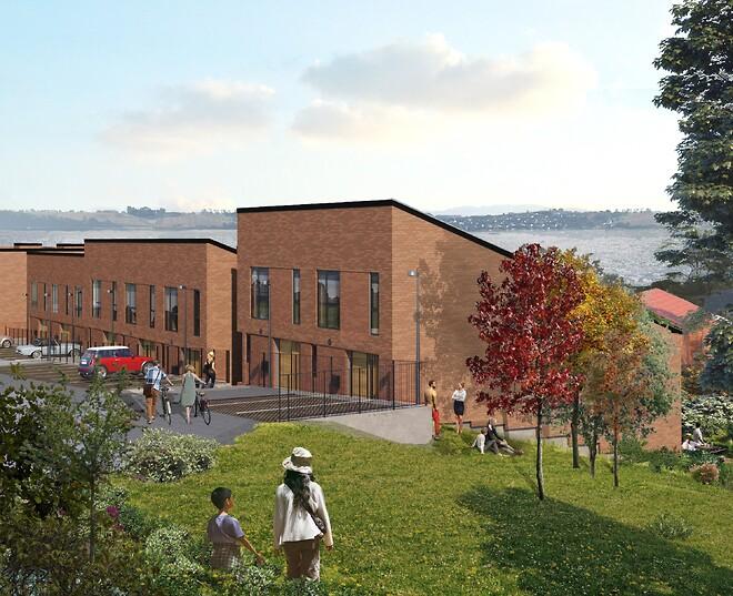 JFP - Murer & Tømrer a/s. Tvedvej i Kolding - Byggeriet skal svanemærkes, og det stiller særlige krav til både byggeproces og materialer.