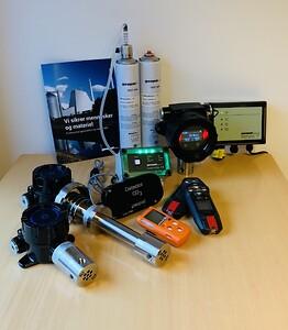 Geopal gasalarmer, gas detection
