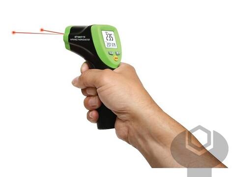 Termometer infrarødt 611B elma