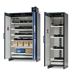SmartStore skabe til opladning af lithium-ion-batterier