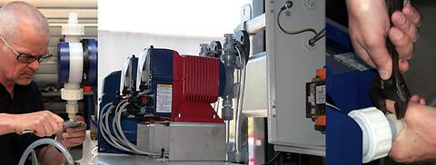 Service af pumper